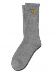 Carhartt WIP Chase Socken (grey heather/gold)