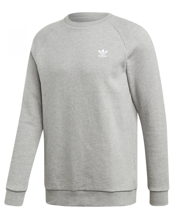 Adidas Essential Crew Sweater (medium grey heather)
