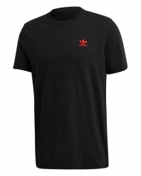 Adidas Essential T-Shirt (black/scarlet)