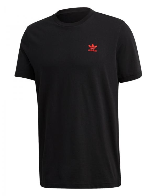 Adidas Essential T-Shirt (black/scarlet)