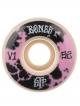 Bones Wheels STF Deep Dye V1 Rollen white 83B (versch. Größen) 4er Satz