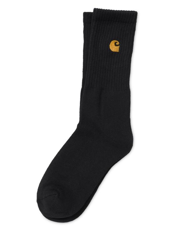 Carhartt WIP Chase Socken (black/gold)
