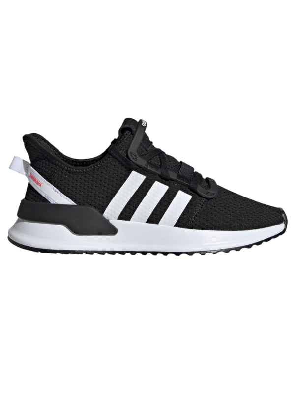 Adidas U_Path Run J (core black/white/shock red)