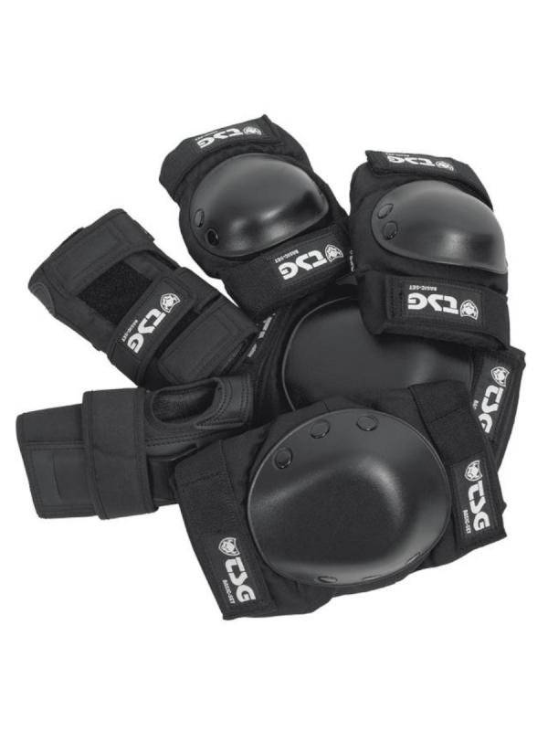 TSG Basic Protection Set (black) (verschied. Größen)
