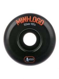 Mini Logo A-Cut Rollen 101a black (versch. Größen) 4er Satz