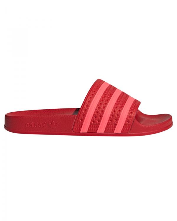 Adidas Adilette Slipper (scarlet/flared/scarlet)