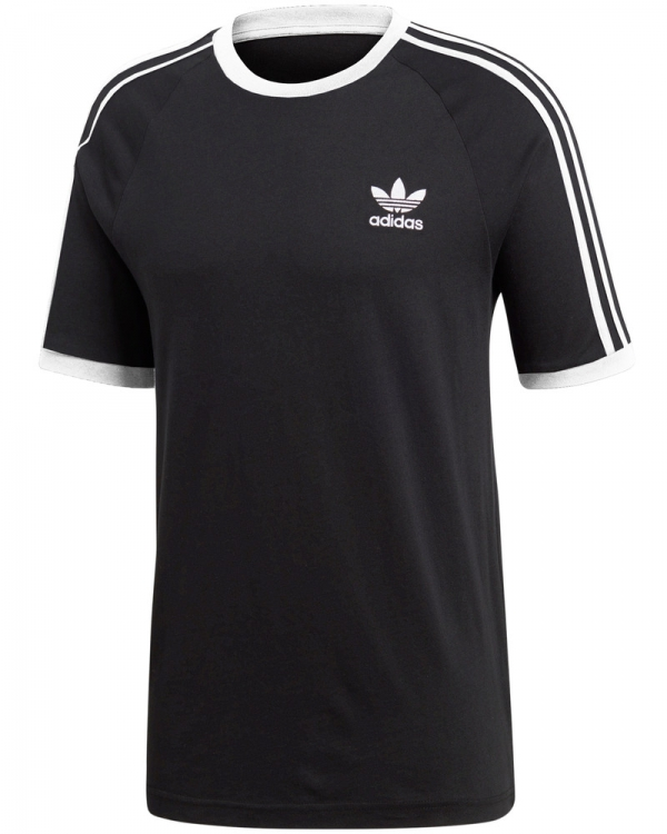 Adidas 3 Stripes T-Shirt (black)