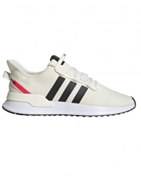 Adidas U_Path Run (off white/core black/shock red)