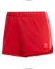 Adidas 3 Stripes Short (scarlet)