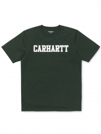 Carhartt WIP College T-Shirt (loden/white)