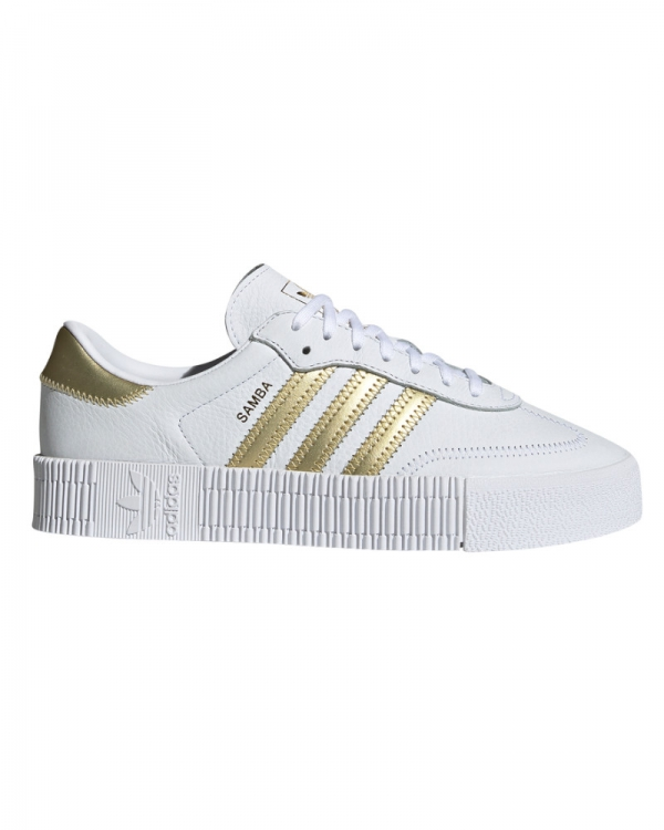 Adidas Sambarose W (white/gold metallic/white)