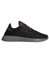 Adidas Deerupt Runner (core black/sesame/solar red)