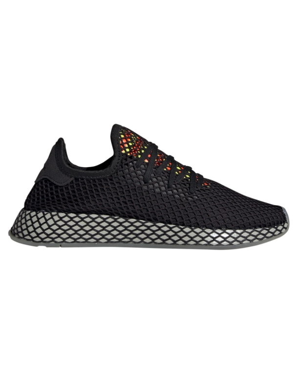 Adidas Deerupt Runner (core black/sesame/solar red)