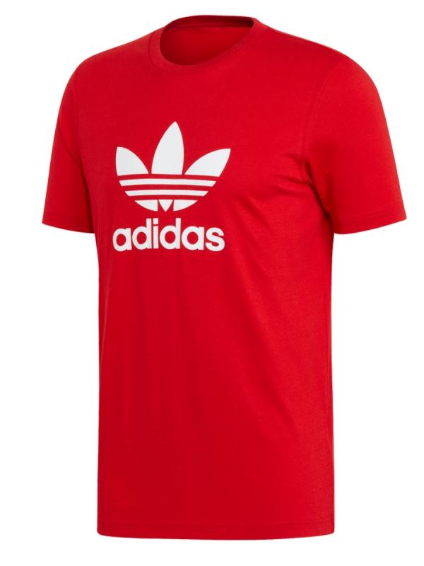 Adidas Trefoil T-Shirt (scarlet/white)