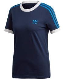 Adidas 3 Stripes T-Shirt (collegiate navy)