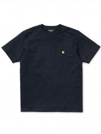 Carhartt WIP Chase T-Shirt (dark navy/gold)