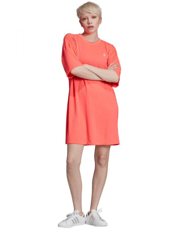 Adidas Trefoil Dress (flash red)