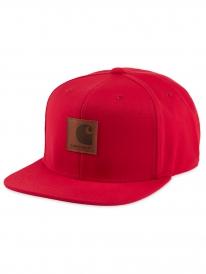 Carhartt WIP Logo Cap (cardinal)