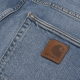 Carhartt WIP Klondike Pant (blue worn bleached/stretch)