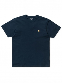 Carhartt WIP Chase T-Shirt (duck blue/gold)