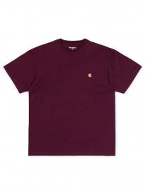 Carhartt WIP Chase T-Shirt (merlot/gold)