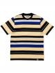 Carhartt WIP Flint T-Shirt (flint stripe/prussian blue)