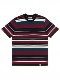Carhartt WIP Flint T-Shirt (flint stripe/merlot)