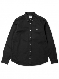 Carhartt WIP Madison Hemd (black/white)