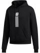 Adidas Solid Pillar Hoodie (black/white)