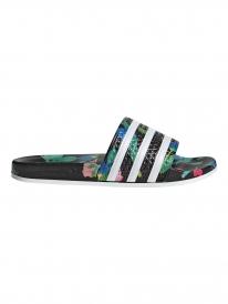 Adidas Adilette W Slipper (core black/white/core black)