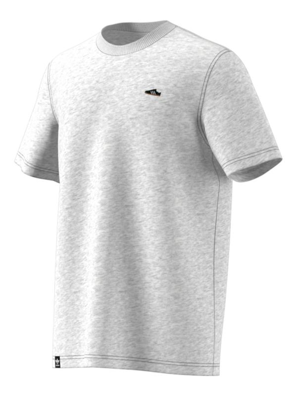 Adidas Mini Emblem T-Shirt (light grey heather)