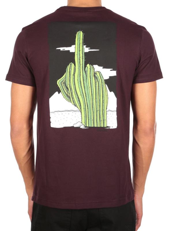 Iriedaily WTFucktus T-Shirt (aubergine)