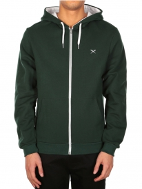 Iriedaily Mini Flag Zip Hoodie (hunter)