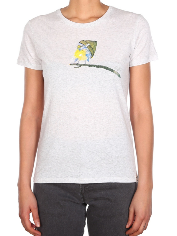 Iriedaily It Birdy T-Shirt (white melange)
