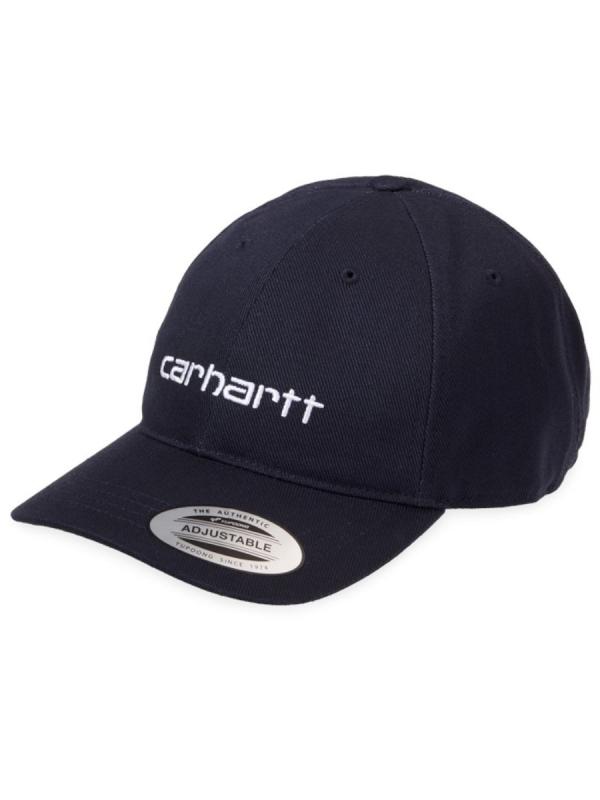 Carhartt WIP Carter Cap (duck blue/white)