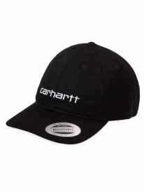 Carhartt WIP Carter Cap (black/white)