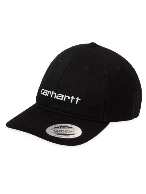 Carhartt WIP Carter Cap (black/white)