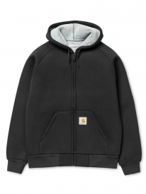 Carhartt WIP Car-Lux Hooded Jacket (black/grey)