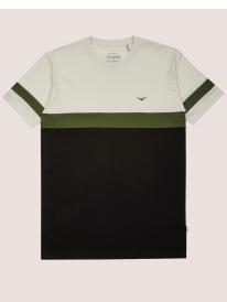 Cleptomanicx Dekker T-Shirt (new creme)