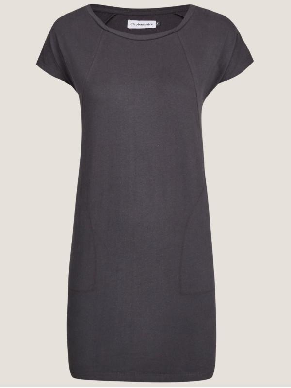 Cleptomanicx Organicx Dress (phantom black)