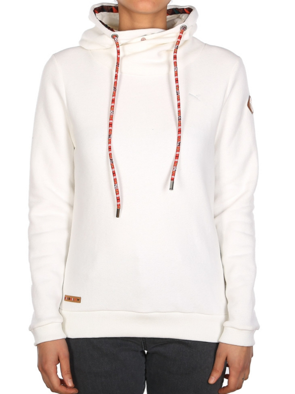 Iriedaily Fluffle Turtle Hoodie (offwhite)