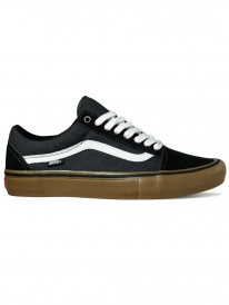 Vans Old Skool Pro (black/white/medium gum)