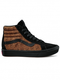 Vans ComfyCush Sk8-Hi (tiny cheetah/black)