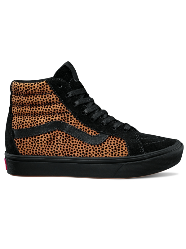 Vans ComfyCush Sk8-Hi (tiny cheetah/black)