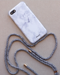 Mayumi Iphone Necklace Case (grey shades)