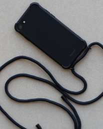 Mayumi Iphone Necklace Case (shadow black)