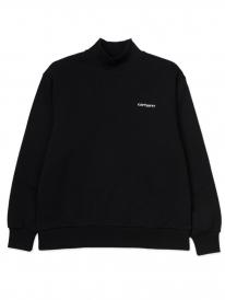 Carhartt WIP W Mockneck Script Sweater (black/white)