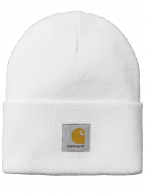 Carhartt WIP Acrylic Watch Hat Beanie (white)