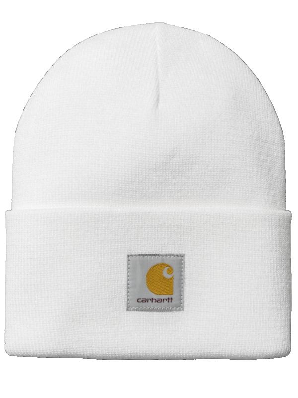 Carhartt WIP Acrylic Watch Hat Beanie (white)