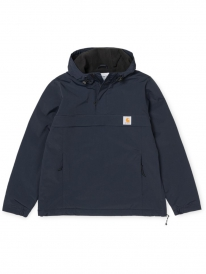 Carhartt WIP Nimbus Pullover Winter Windbreaker (blacksmith)